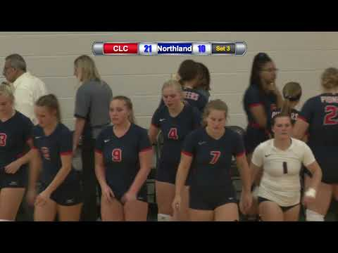 Central Lakes College Volleyball vs. Northland Community and Technical College 10/9/19