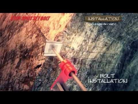 Stiff Split Set Rock Bolts HD