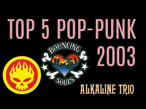 5 albums pop punk de l'année...2003 !