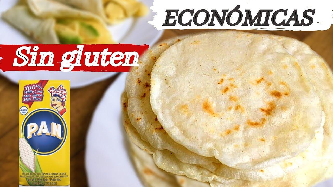 Fajitas Con Harina Pan Sin Gluten Receta Económica Youtube