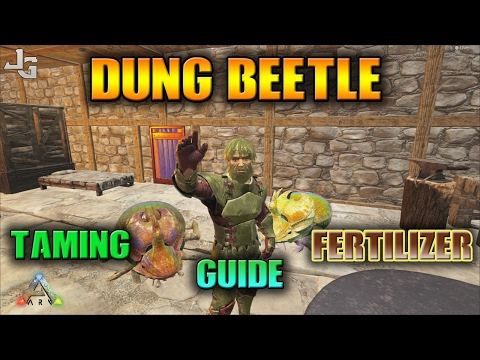 ARK - Dung Beetle Guide - Easy Tame & Fertilizer