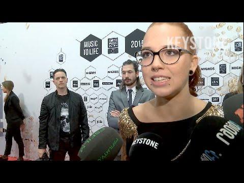 Swiss Music Awards: Wie glamourös sind Schweizer Stars?  - SMA Preisverleihung Hallenstadion Zürich