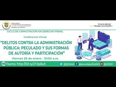 Download DELITOS CONTRA LA ADMINISTRACIÓN PÚBLICA: PECULADO Y SUS FORMAS DE AUTORÍA Y PARTICIPACIÓN
