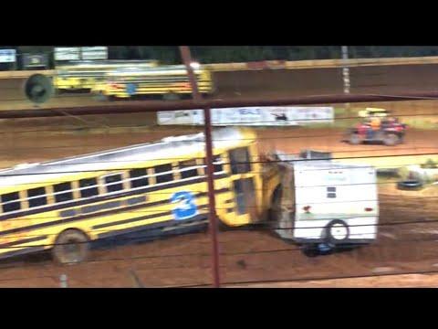Bus racing and demolition derby part 2 Flomaton speedway. #busracing #demolitionderby
