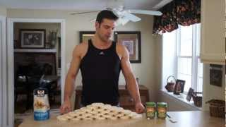 Rice Cake And Peanut Butter Challenge