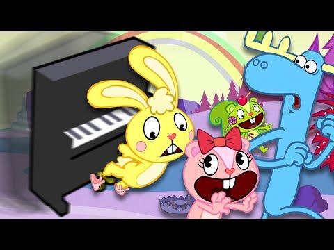 HAPPY TREE FRIENDS THEME SONG - Piano Tutorial thumbnail
