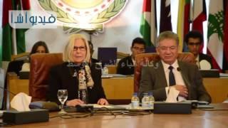 السفيرة هيفاء أبو غزالة تفتتح نموذج محاكاة الأمم المتحدة لجامعة أكتوبر للعلوم الحديثة
