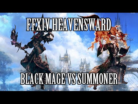 FFXIV Heavensward: Black Mage vs Summoner (Updated, Patch 3.1)