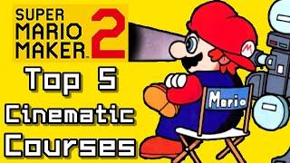 Super Mario Maker 2 Top 5 CINEMATIC Courses (Switch)