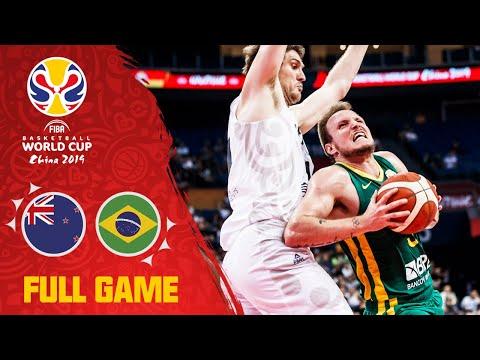 New Zealand & Brazil start the FIBAWC w/ a THRILLER! - Full Game