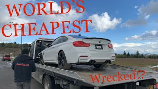 Buying The CHEAPEST Salvage BMW M4 From Auction - Rebuild Part 1