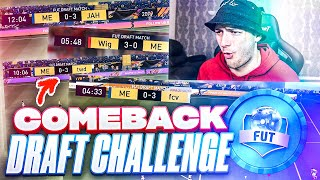 I WON THIS IMPOSSIBLE FUT DRAFT COMEBACK CHALLENGE ON FIFA 21!!