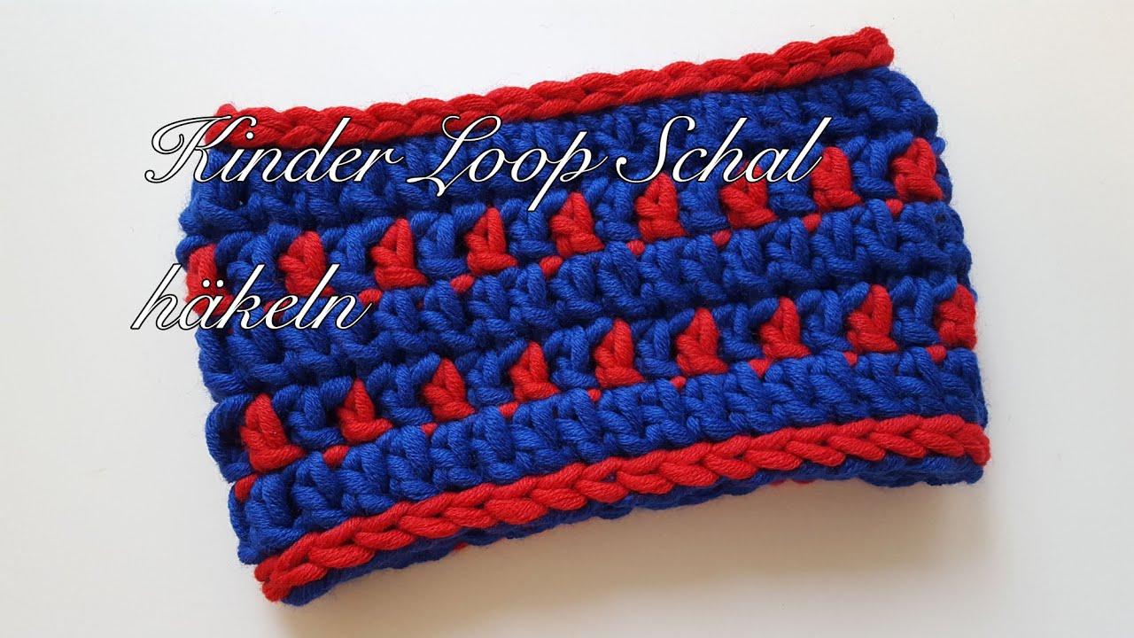 Loop Schal Für Kinder Nähen Youtube Kinder Loop Stricken Anleitung