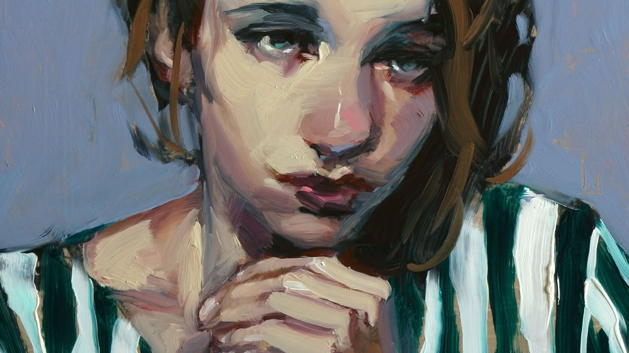 Portrait Painting Demo Contrition Youtube