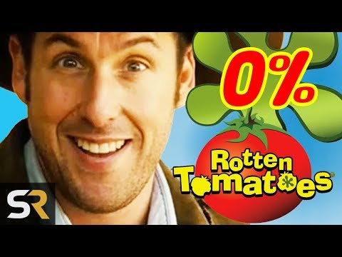 Movies You Didn't Realize Scored 0% On Rotten Tomatoes