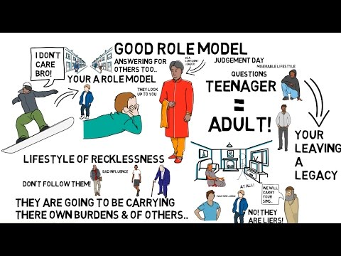HOW TO BE A GOOD ROLE MODEL? - Nouman Ali Khan Animated ...