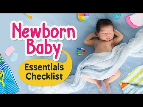 Newborn Baby Shopping – The list of Items You Need to Buy