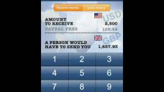 Receive payments for International service or goods sell - PayPal Fee PRO Calculator
