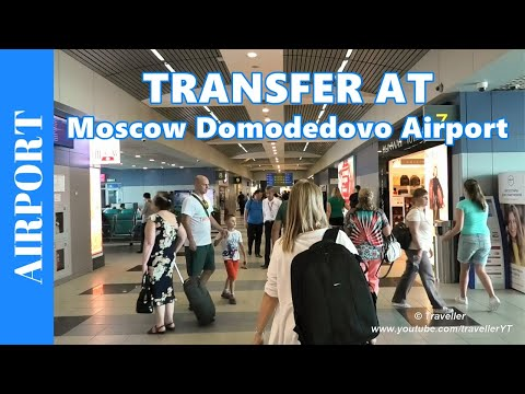TRANSFER AT A RUSSIAN Airport - What's a Transfer like at Moscow Domodedovo Airport?