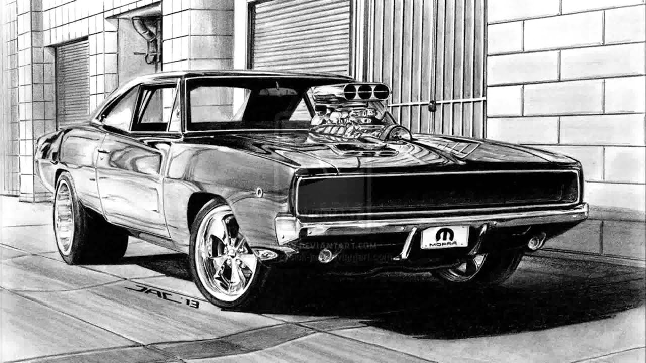 Fast And Furious 4 Cars Wallpapers 1968 Dodge Charger Rt Youtube