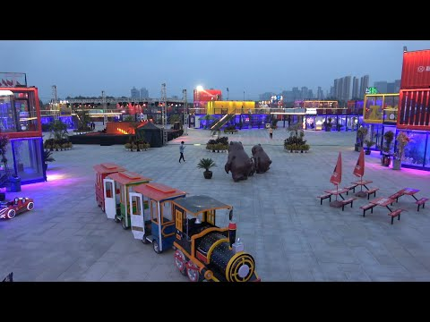 """""""Container town"""" opens to public in Shenyang, China"""