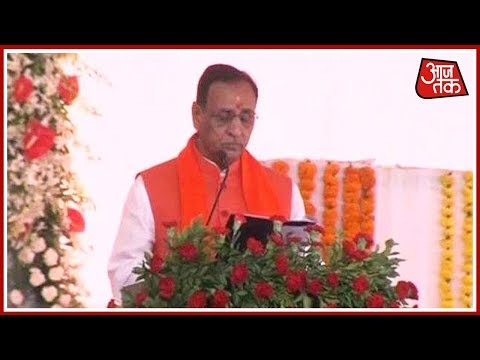 Exclusive: Vijay Rupani Takes Oath As Gujarat Chief Minister