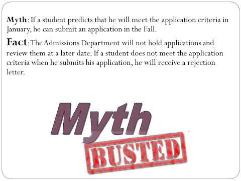 Community College of Philadelphia Health Care Application Myth Busters