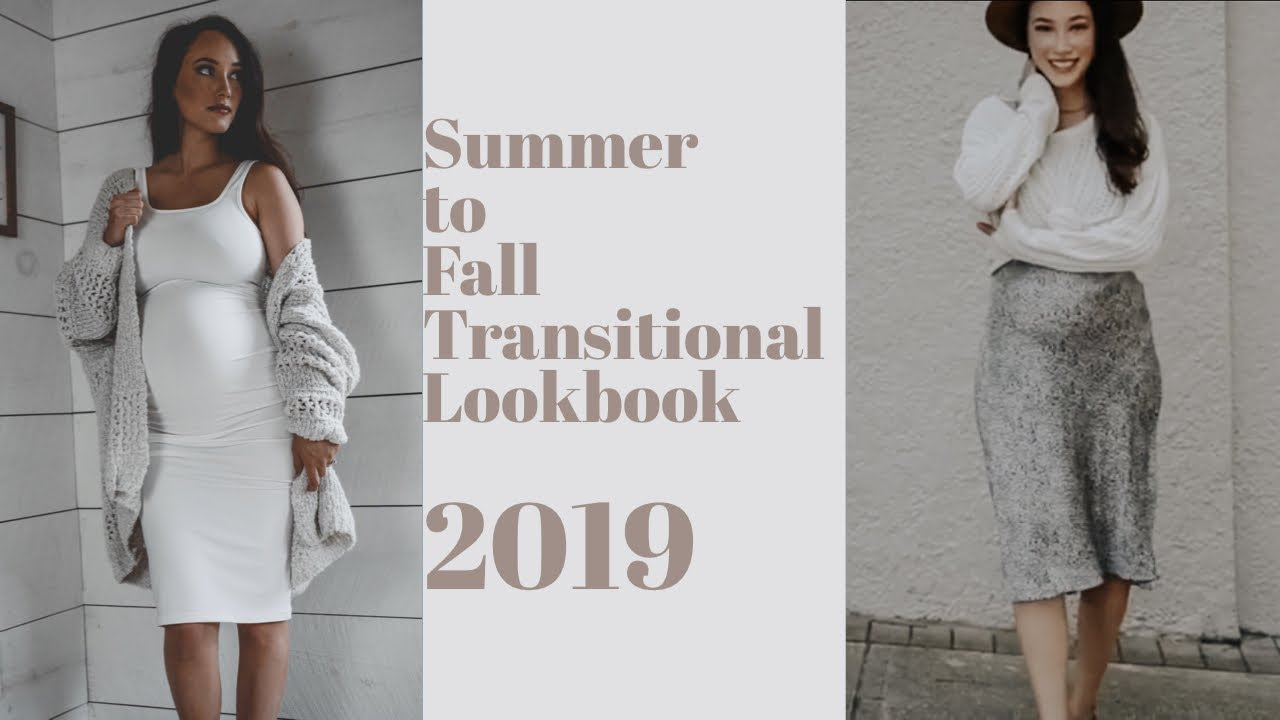 Summer to Fall Transitional Outfits 2019| + Bump Friendly Outfits 8