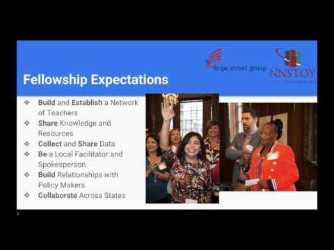 March 2017 Info Session  Utah Teacher Fellowship with Hope Street Group & NNSTOY
