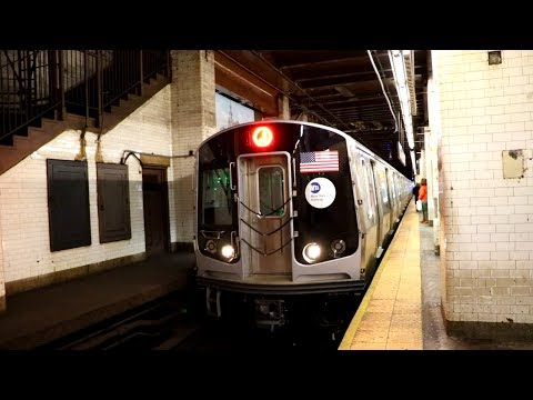 MTA New York City Subway : Broad Street & Jamaica Center Bound R179 J Trains @ Chambers Street
