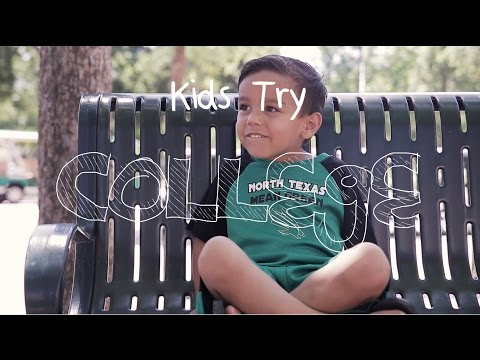 Kids Try College at University of North Texas (UNT)