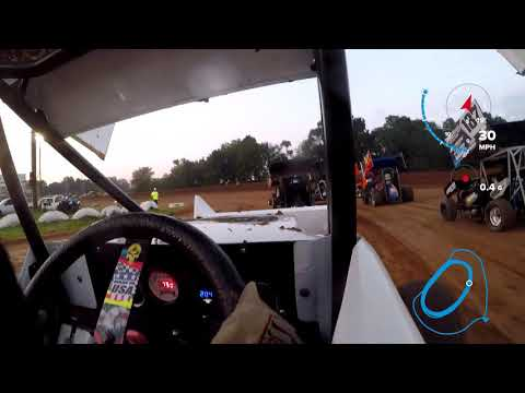 Big Cock Racing Heat race at I-30 Speedway on Aug 25 2018