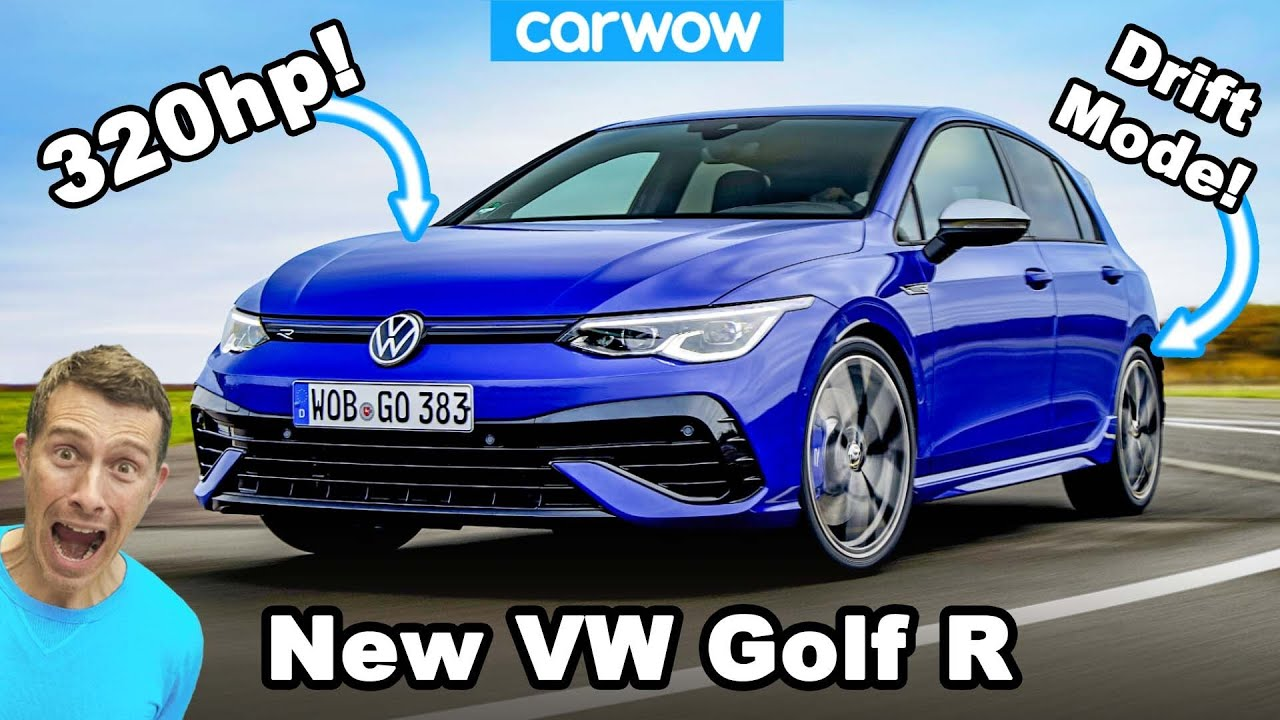 New Vw Golf R 2021 It Makes The Gti Pointless Youtube
