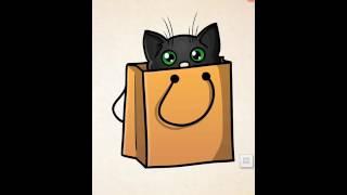 Как нарисовать кошку 6 способом