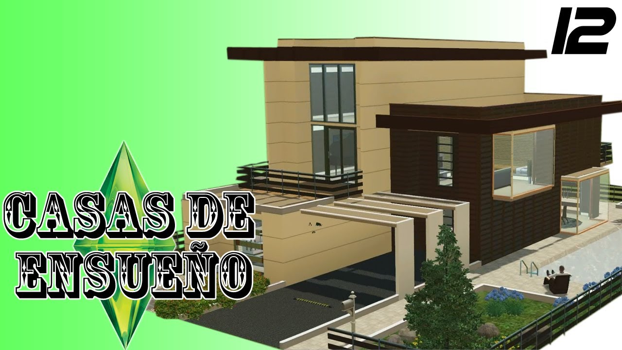 Casas de ensue o casa 12 serie sims 3 descarga youtube for Casas modernas sims 4 paso a paso