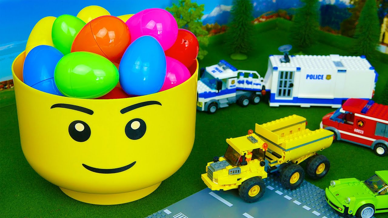 Cars Fire Truck Police car Dump truck and Racing Cars