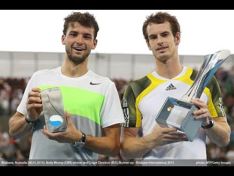 Grigor Dimitrov vs. Andy Murray Brisbane International 6-7(0), 4-6 (F) 06.01.2013.