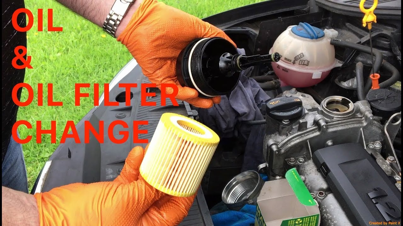 How To Change The Oil Amp Oil Filter On A Seat Ibiza 1