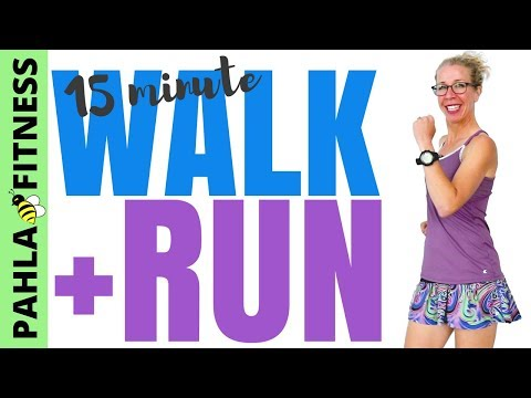 15 Minute (2000 Steps) Indoor WALK + RUN | Getting the MOST BENEFIT from Your Modified Workout