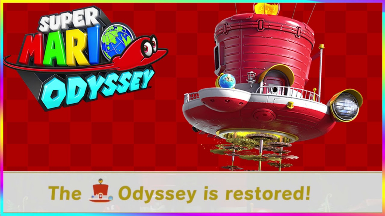 Super Mario Odyssey Odyssey Is Restored Sound Effect Free Theme