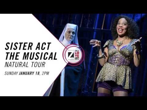 SISTER ACT - THE MUSICAL at The Zeiterion Theatre, New Bedford 1/18/15