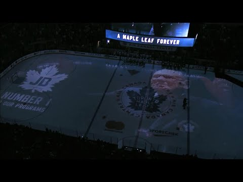 Maple Leafs give late Johnny Bower an amazing farewell
