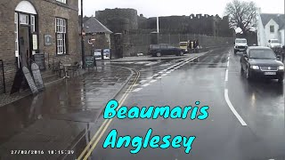 Easter trip 2018 - Arriving at Beaumaris on the Isle of Anglesey in Bessie the Motorhome
