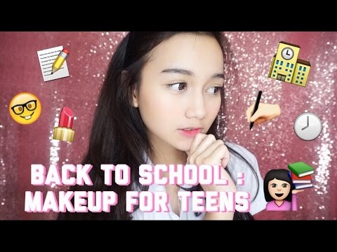 BACK TO SCHOOL : Makeup for teens || ft. Mega Gumelar