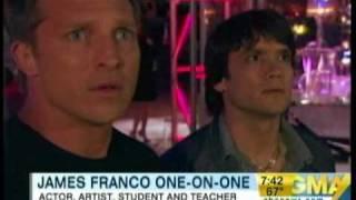 James Franco On Good Morning America-7/17/10