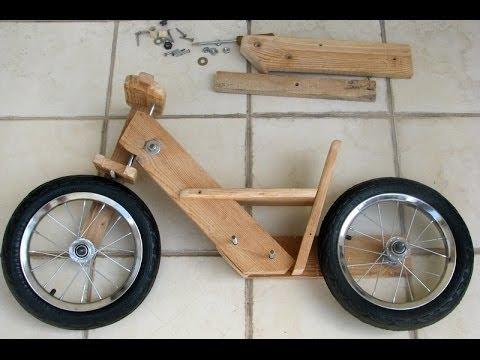видео: Деревянный велосипед своими руками
