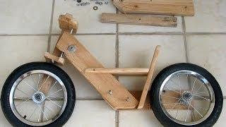 Деревянный велосипед своими руками(Самодельный детский велосипед из дерева своими руками. Комментируйте данное видео, ставьте палец вверх..., 2014-06-21T20:33:30.000Z)