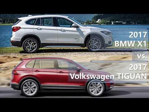 2017 BMW X1 vs 2017 Volkswagen Tiguan (technical comparison)