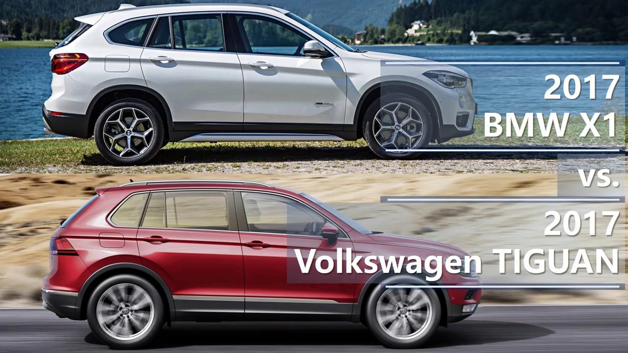 Bmw X1 Vs X3 >> 2017 BMW X1 vs 2017 Volkswagen Tiguan (technical comparison) - YouTube
