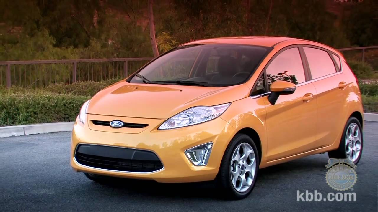 2011 Ford Fiesta Review Kelley Blue Book